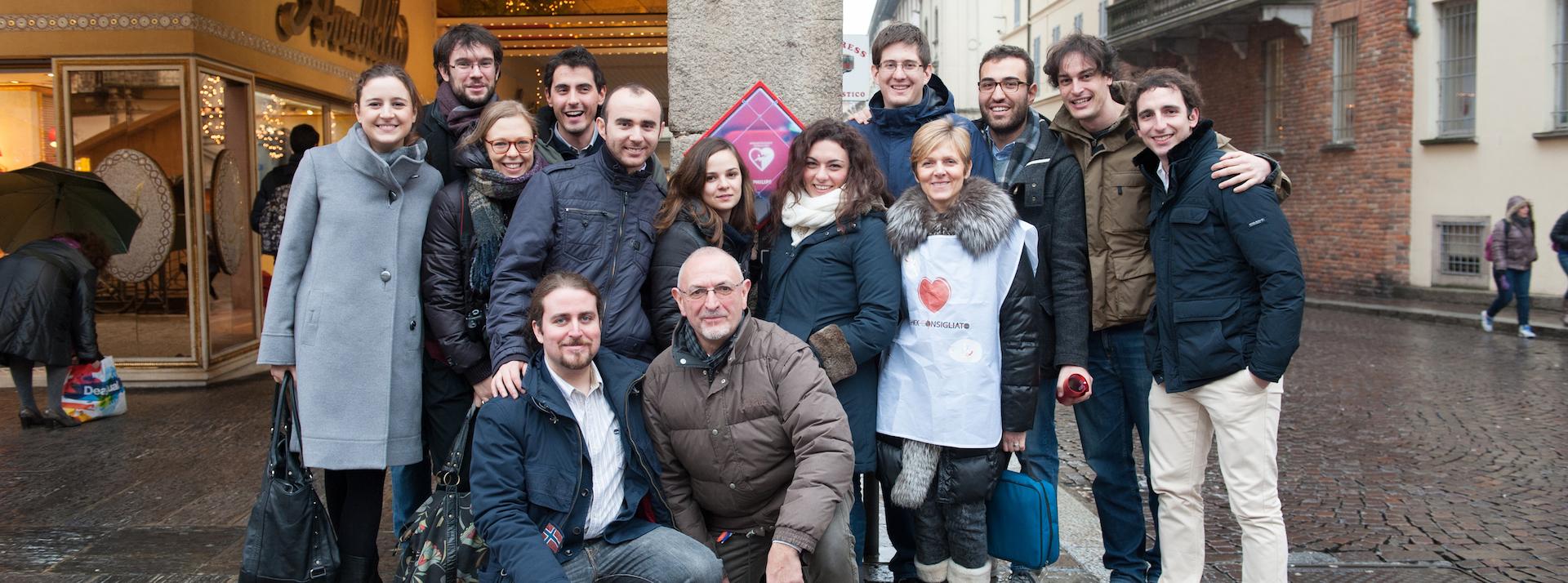 Primo DAE a Pavia