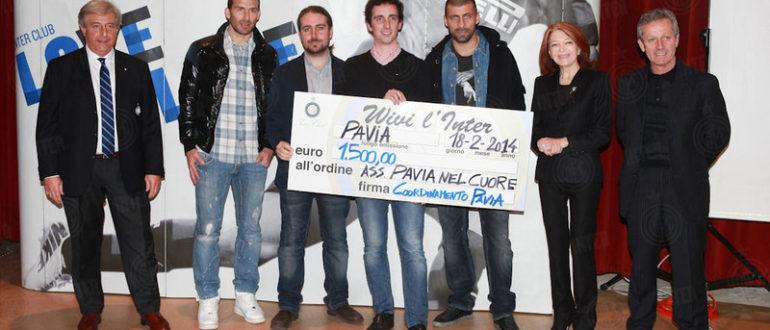 Inter Club regala DAE per Pavia nel Cuore
