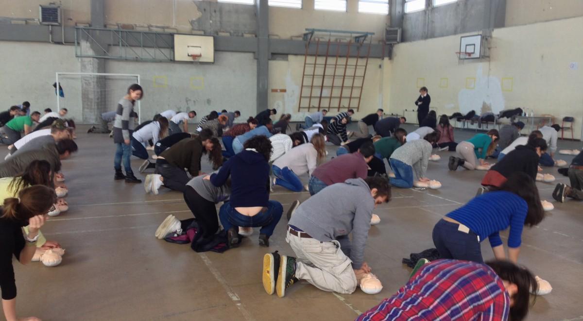 Mass Training BLS a Scuola