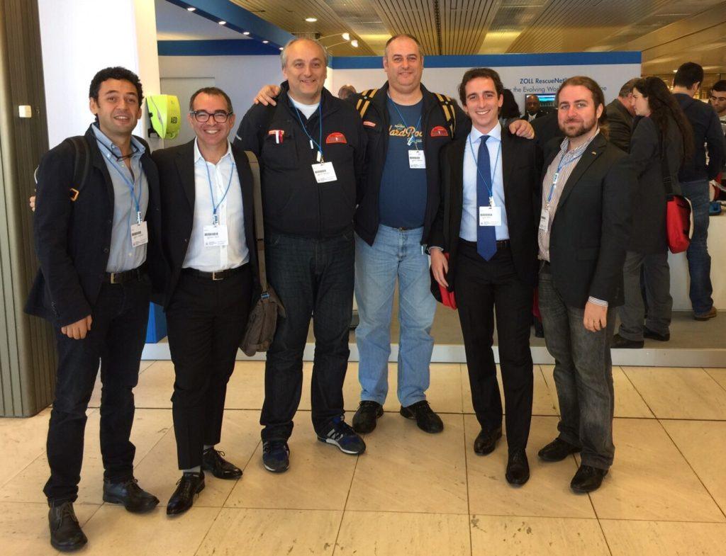 Con alcuni amici di IRC e IRC Comunità
