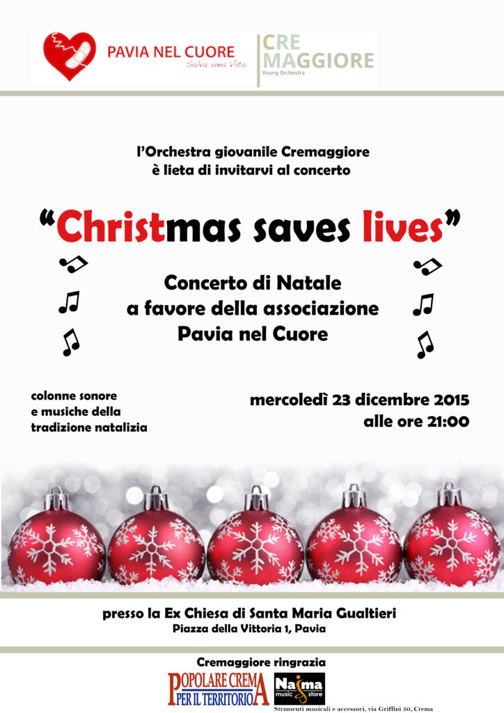 Locandina Christmas Saves Lives
