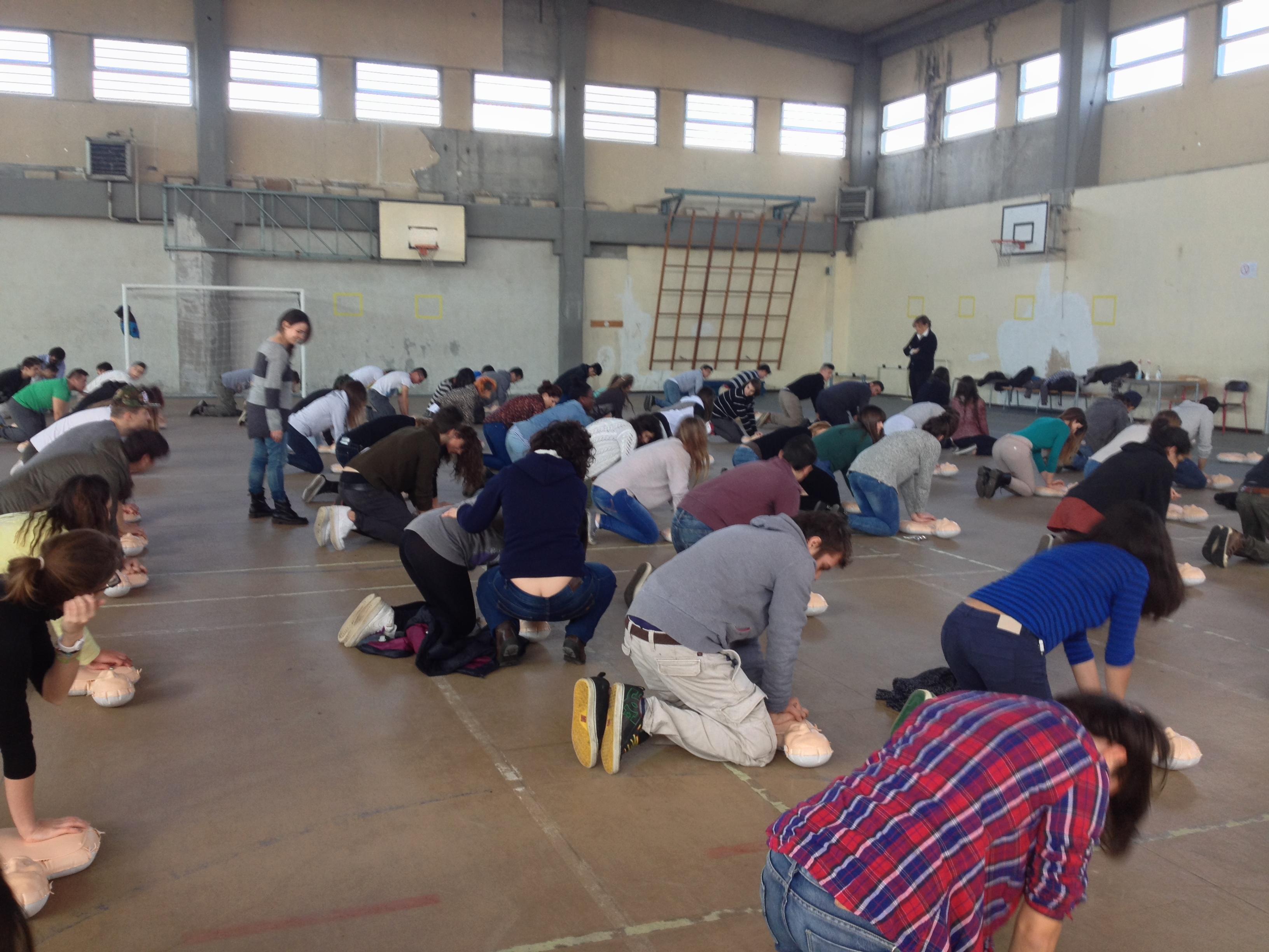 #scuolesicure DAE e BLS nelle scuole a Pavia