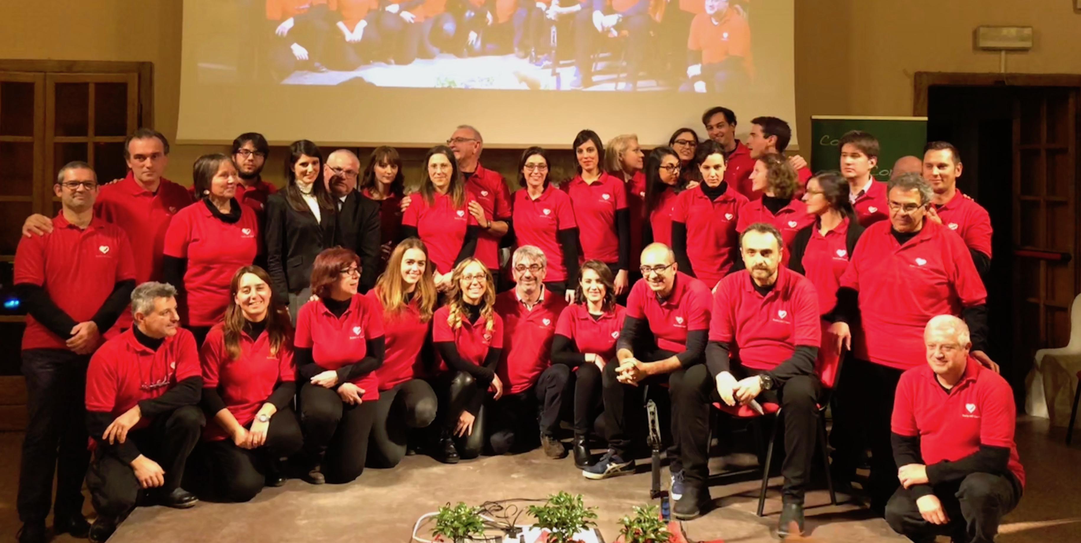 I volontari di Pavia nel Cuore